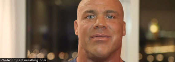 Kurt Angle says he will be retiring from TNA following 2016 UK tour