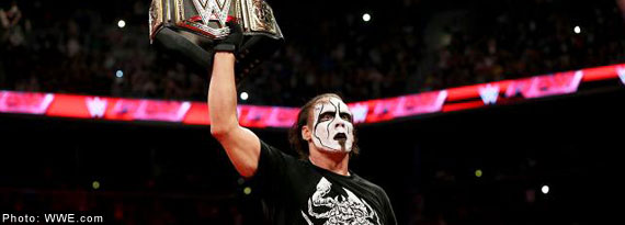 Sting back on RAW this Monday night in Tampa