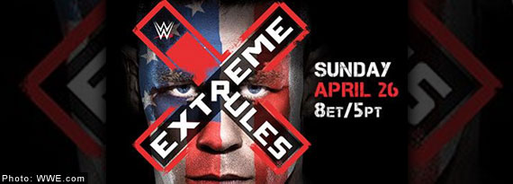 Live WWE Extreme Rules PPV Results for April 26