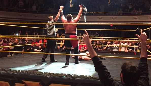Samoa Joe becomes the new NXT Champion