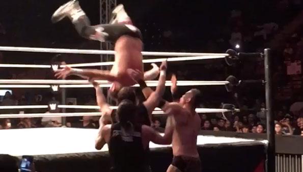 WWE Results: Dubai, UAE
