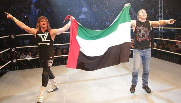 WWE Results: Dubai, UAE