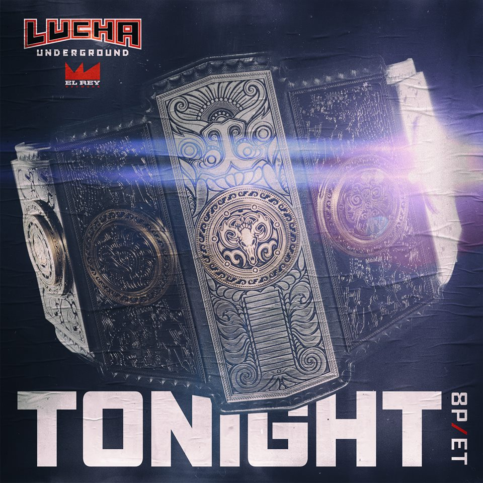 Lucha Underground Results - 5/18/16 (New Gift of the Gods Champion ...