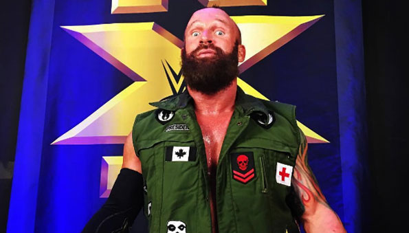 Eric Young's contract status with NXT