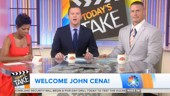 John Cena gives an update on his recovery