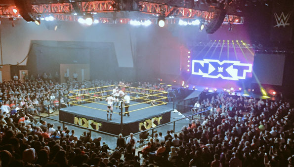 NXT Live Results: Plymouth, England