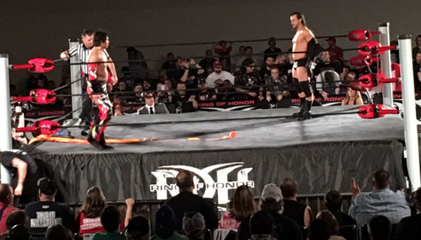 Ring of Honor Results: Collinsville, Illinois