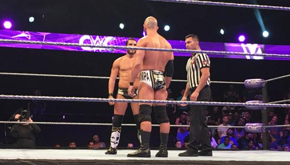 WWE Cruiserweight Classic tapings