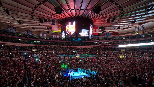 WWE at MSG