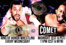 ROH on Comet Results