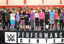 WWE tryouts