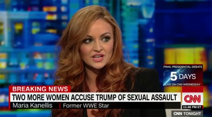 ... appears on CNN to address recent allegations against Donald Trump