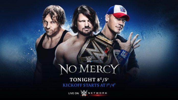 WWE No Mercy PPV