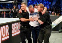 Shane McMahon Injury