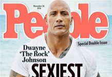 Rock sexiest man alive