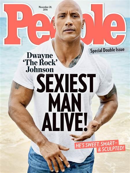 Rock sexiest man alive