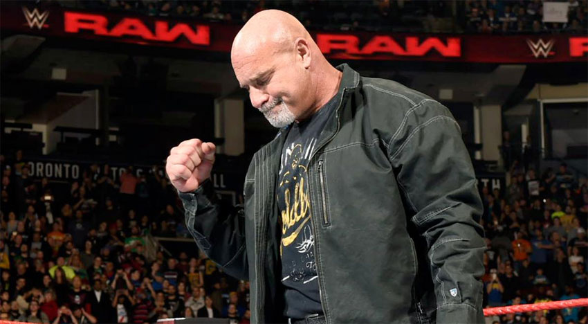 WWE ведут переговоры с Голдбергом