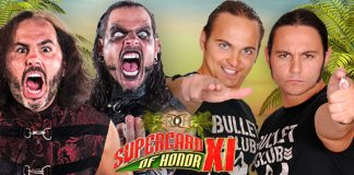 The Hardys vs. The Young Bucks