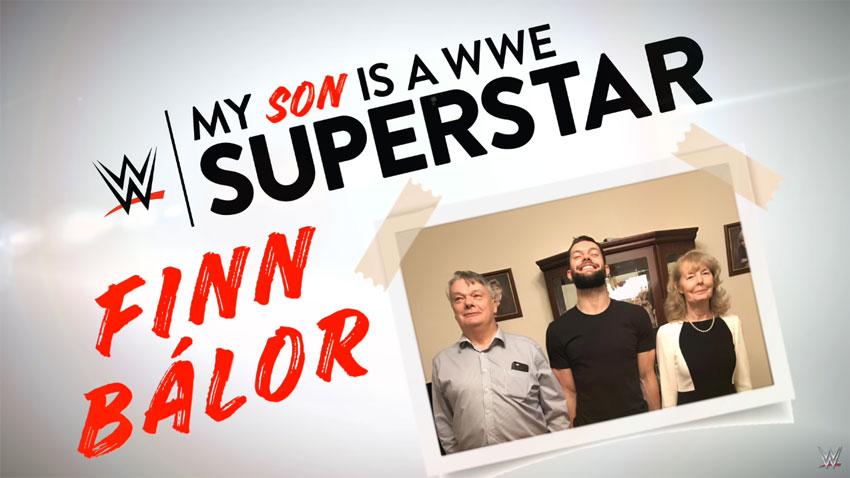 Video: WWE profiles Finn Balor, his parents and Balor's ...