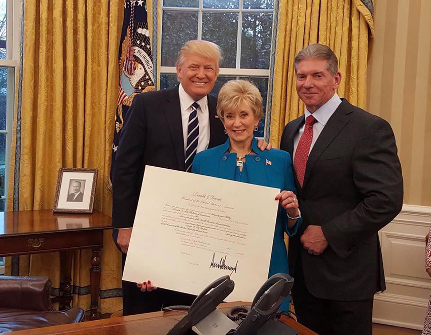 Image result for trump mcmahons