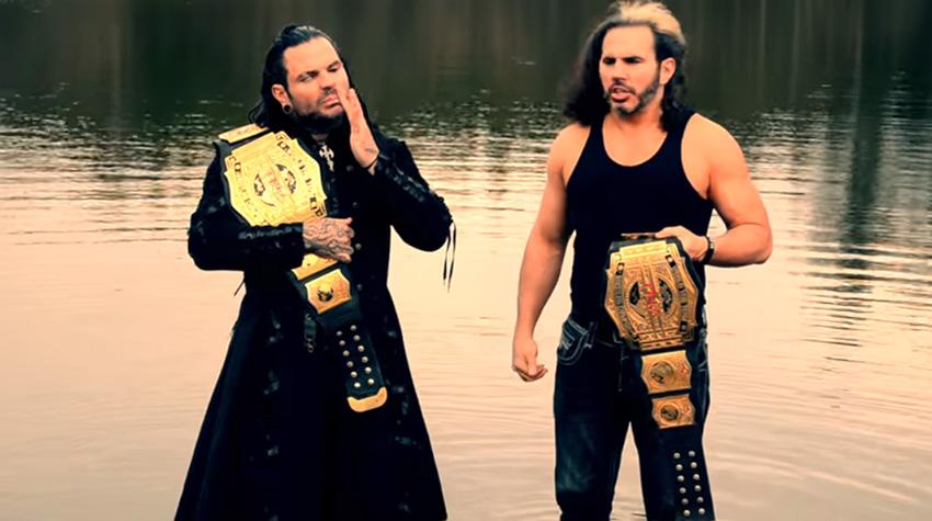 Matt and Jeff Hardy reincarnate TNA titles, Heyman on ...