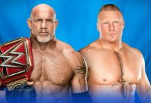 Goldberg vs Brock Lesnar Results