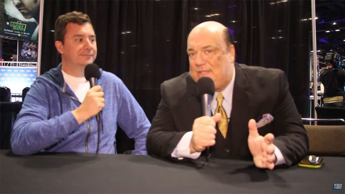 WWE Media Row