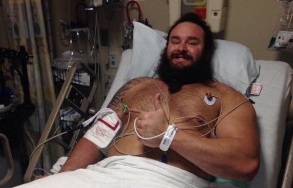 Strowman post surgery photo