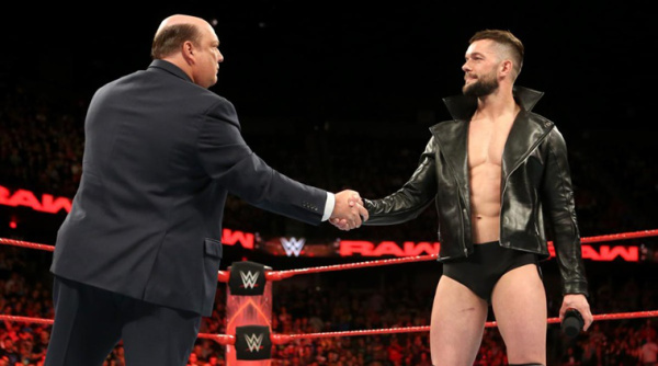 Heyman discusses Finn Balor