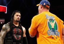 Reigns vs Cena