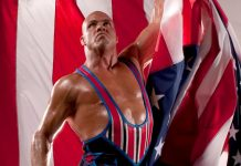 Kurt Angle replacing Roman Reigns