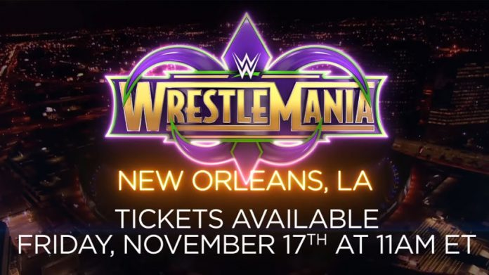 WrestleMania 34 tickets