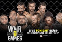 NXT TakeOver WarGames Results