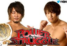 NJPW Power Struggle Results