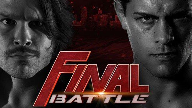 ROH Final Battle PPV