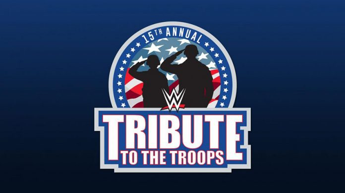 WWE Tribute to the Troops tapings