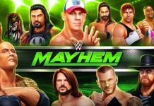 WWE mobile game
