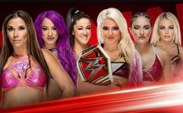 Six Woman Tag Team Match
