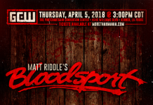 Matt Riddle's Bloodsport