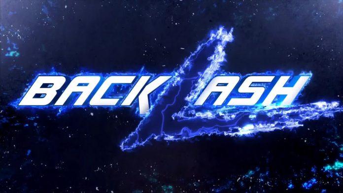 WWE Backlash PPV