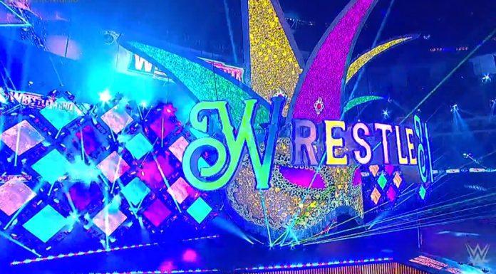 Wrestlemania 34 set