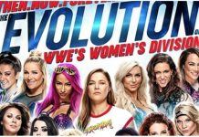 WWE Womens evolution dvd