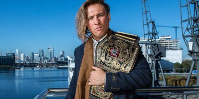 WWE United Kingdom Champion Pete Dunne