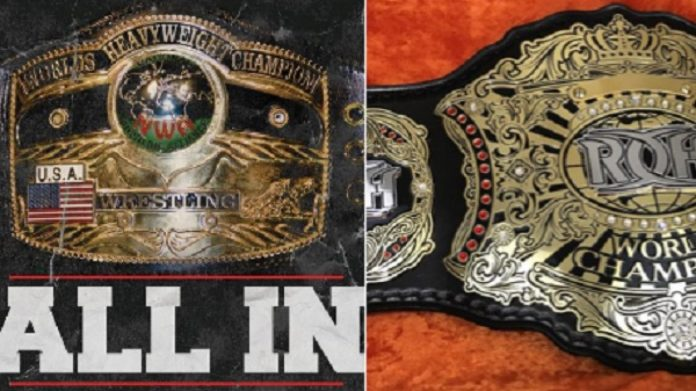 NWA and ROH World Title