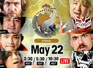 NJPW Best of the Super Juniors Results