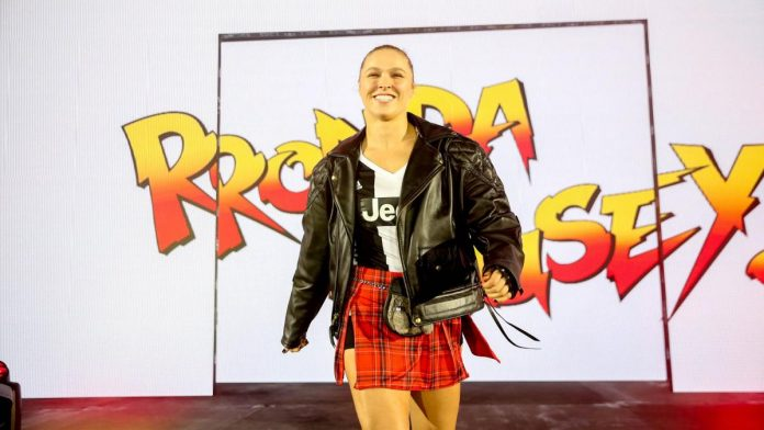 Ronda Rousey at a recent WWE Live Event