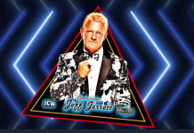 Jeff Jarrett appearing for ICW in Glasgow, Scotland.