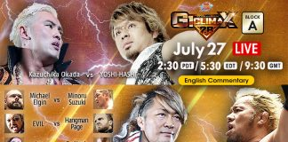 NJPW G-1 Climax Results