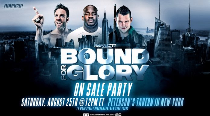 Bound For Glory on sale ticket date