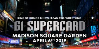 ROH/NJPW G1 Supercard Madison Square Garden